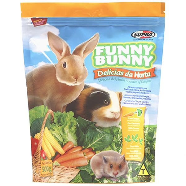 Funny Bunny Delícias da Horta - Coelhos, Hamster e Outros Pequenos Roedores
