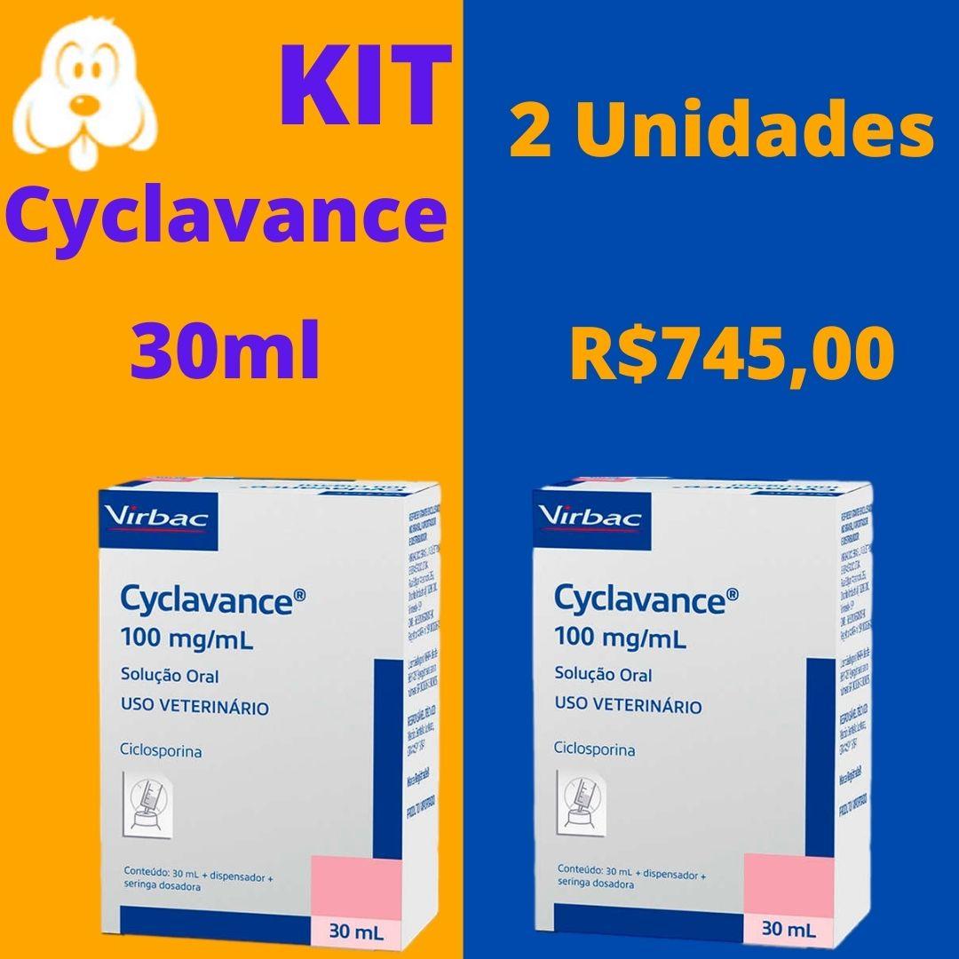 Cyclavance 30ml Kit 2 Unidades - Frete Grátis Todo Brasil