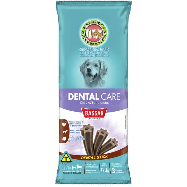 Dental Care Bassar Pet Food Cães Raças Grandes