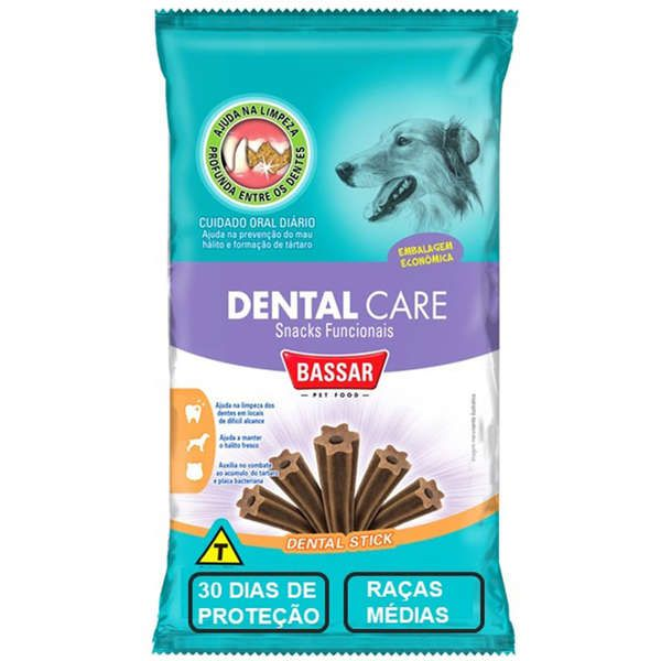 Dental Care Bassar Pet Food Cães Raças Médias