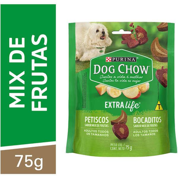 Dog Chow Extra Life Mix de Frutas Todos os Tamanhos 75g