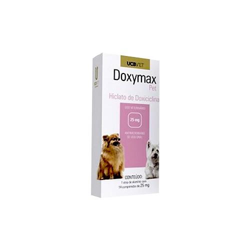 Doxymax Pet Hiclato de Doxiciclina (14 comprimidos)