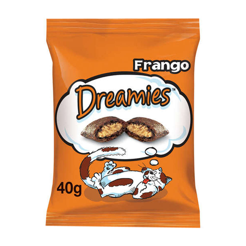 Dreamies Snacks Frango - 40g