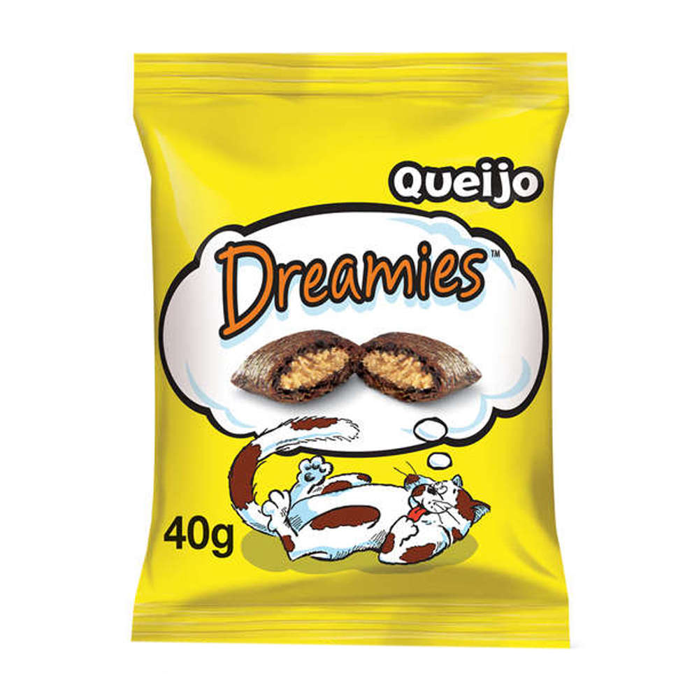 Dreamies Snacks Queijo - 40g