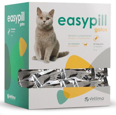 Snack para Comprimidos Easy Pill Gato - 2 Unidades