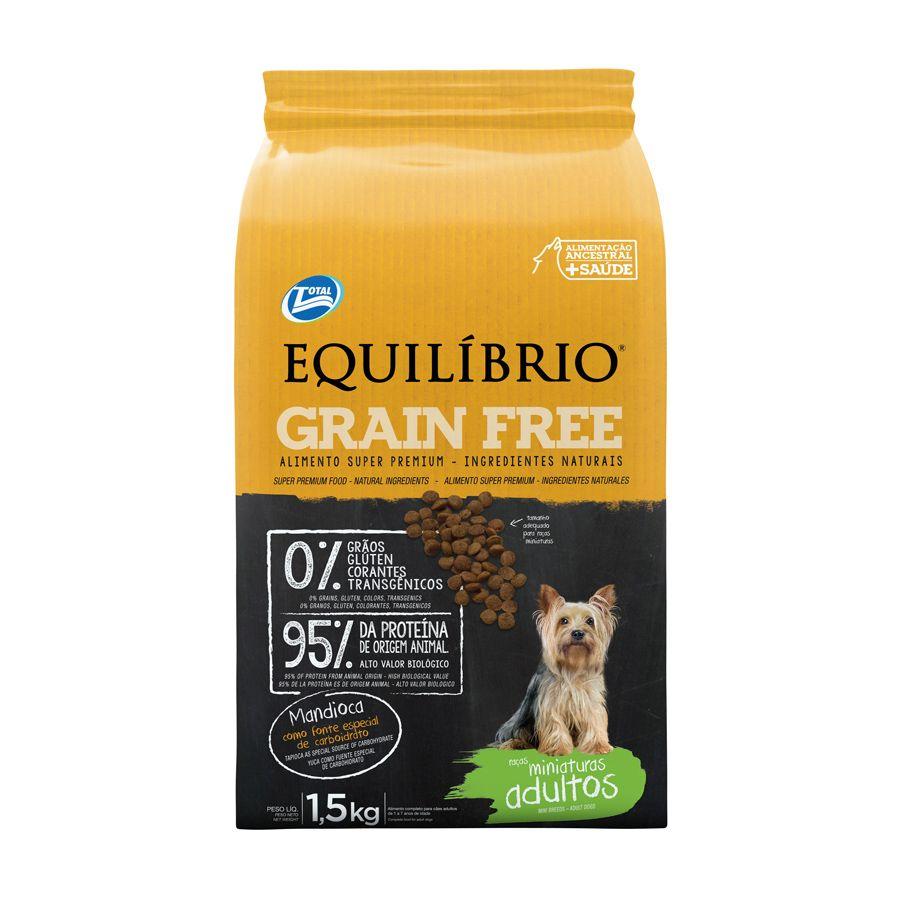 Equilibrio Grain Free Minaturas Adulto