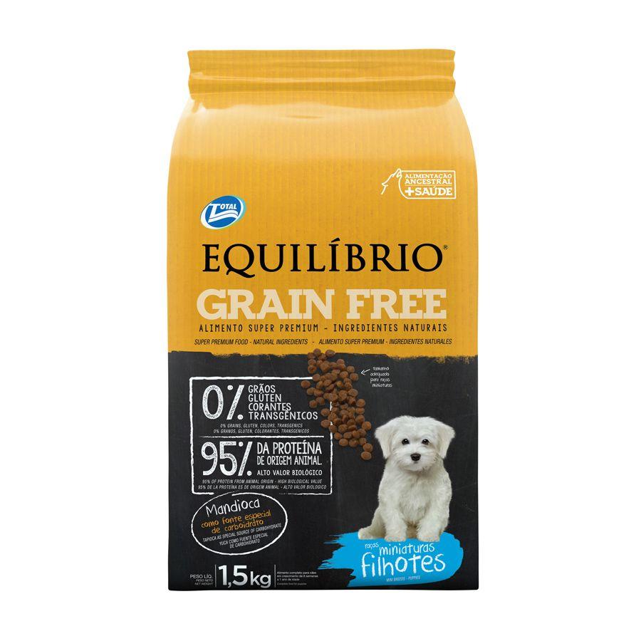 Equilibrio Grain Free Minaturas Filhotes