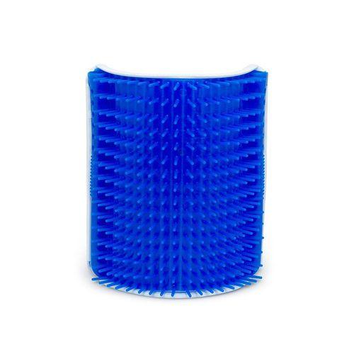 Escova Massageadora Truqys Pet Coçadinha - Azul