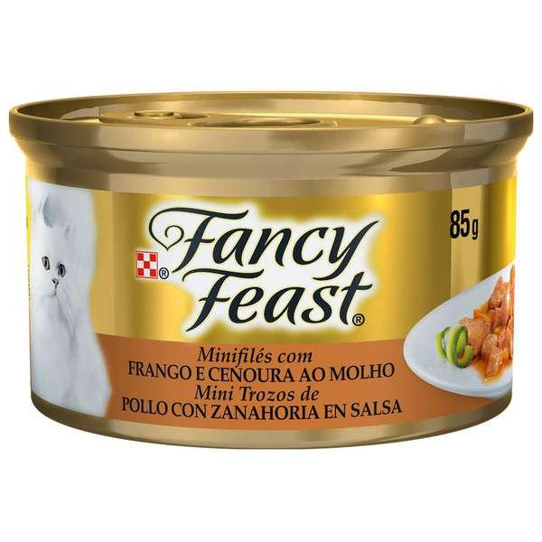 Fancy Feast com Frango e Cenoura ao Molho - 85g