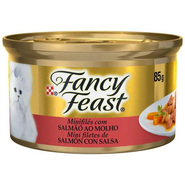 Fancy Feast com Salmão ao Molho - 85g