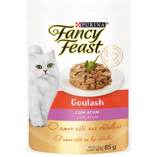 Fancy Feast Sachê Goulash com Atum para Gatos Adultos 85g