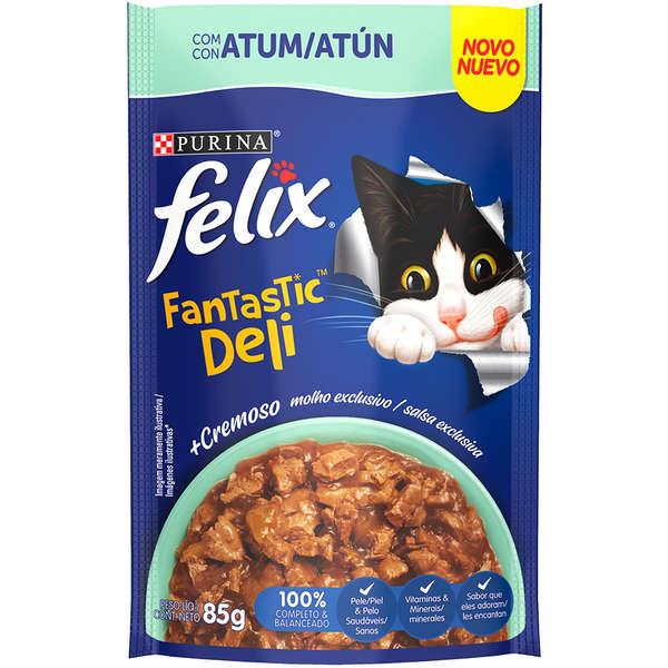 Felix Sachê Fantastic Deli Atum Gatos 85- Nestlé
