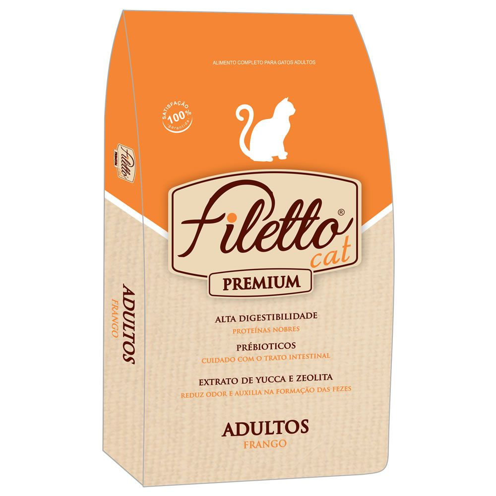 Filetto Gato Adulto Frango