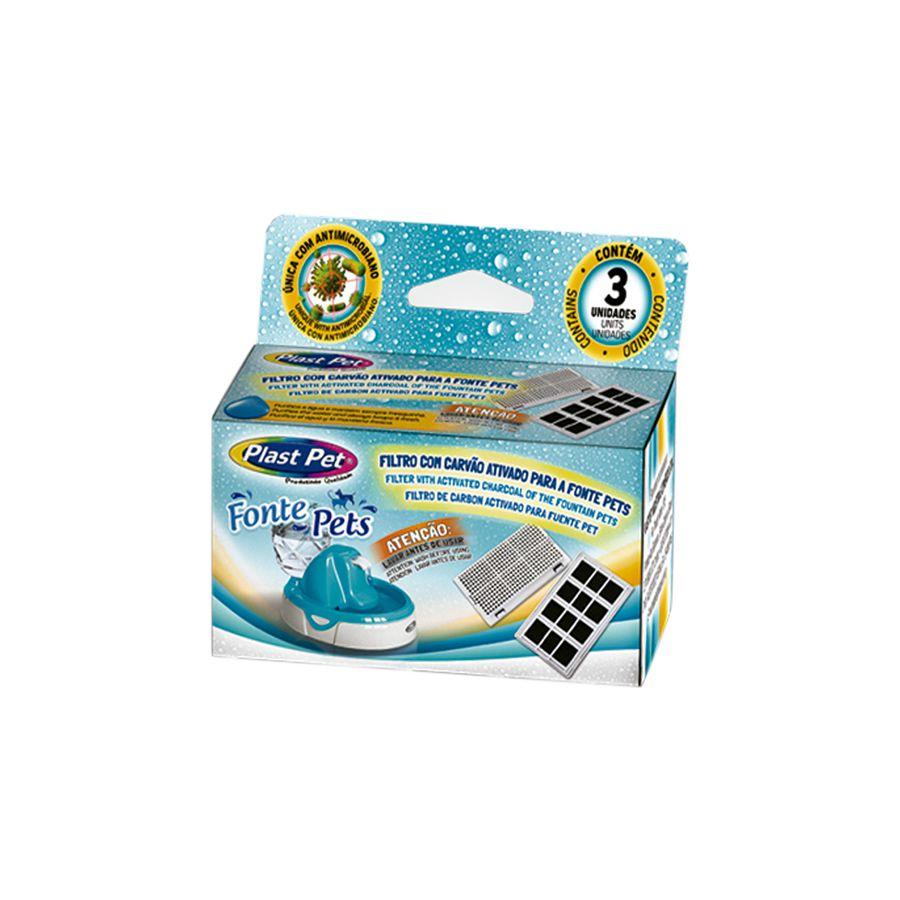 Filtro para Fonte Bebedouro Plast Pet