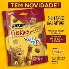 Friskies Party Mix Cordeiro,Carne Suina - 40g