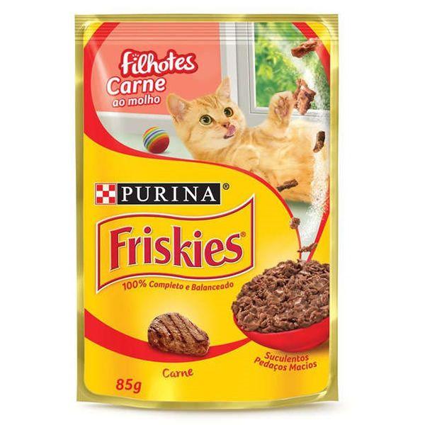 Friskies Sachê Carne para Gatos Filhotes