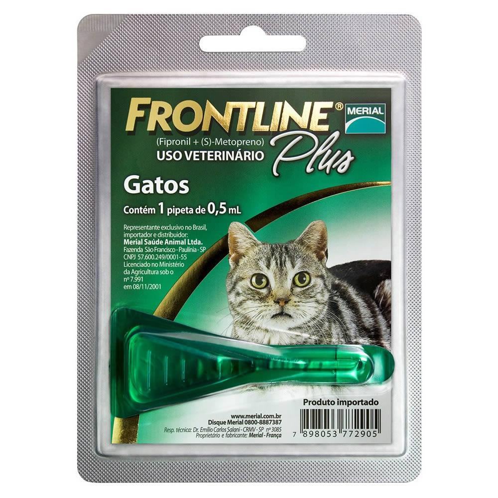 Frontline Plus 0,5ml - Gatos