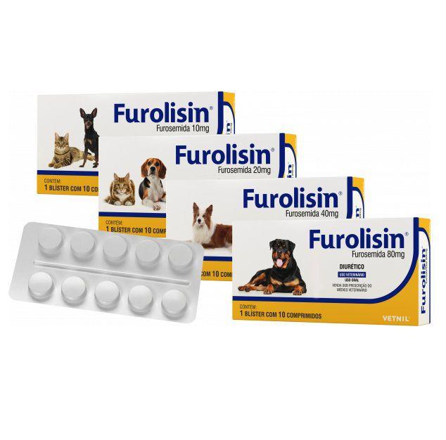 Furolisin - cartela 10 comprimidos