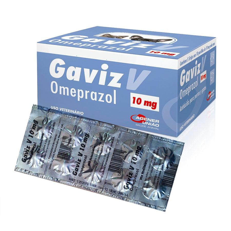 Gaviz V Omeprazol 10mg  (10 comprimidos)