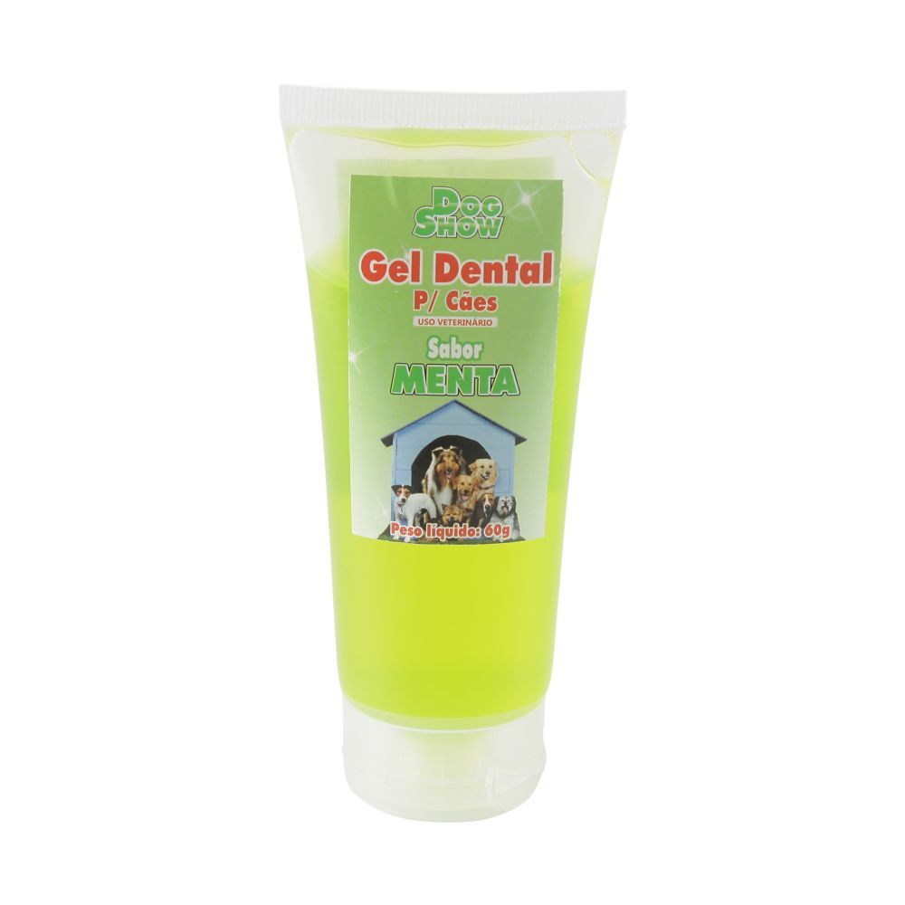 Gel Dental Menta Dog Show