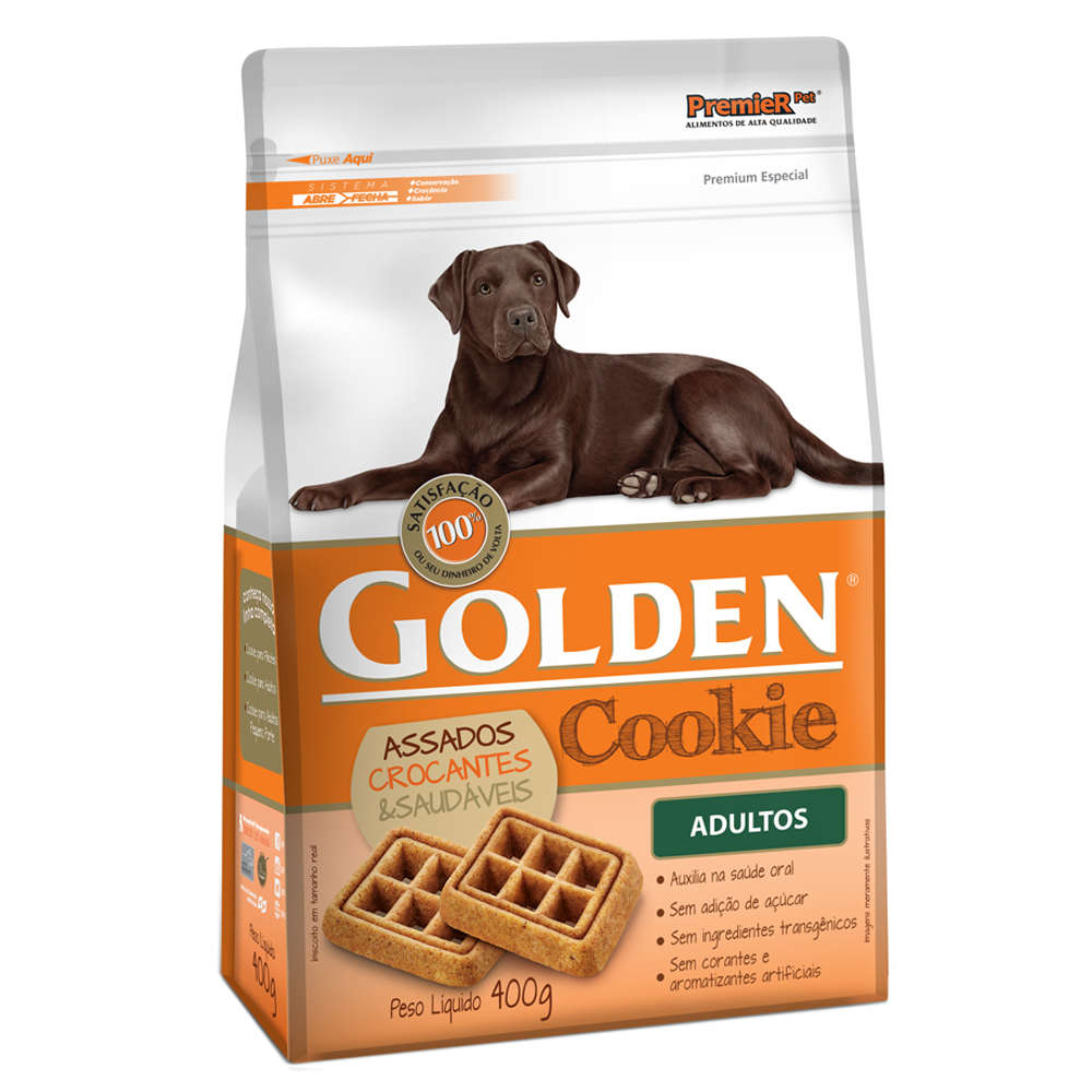 Golden Cookie Adulto - 400g