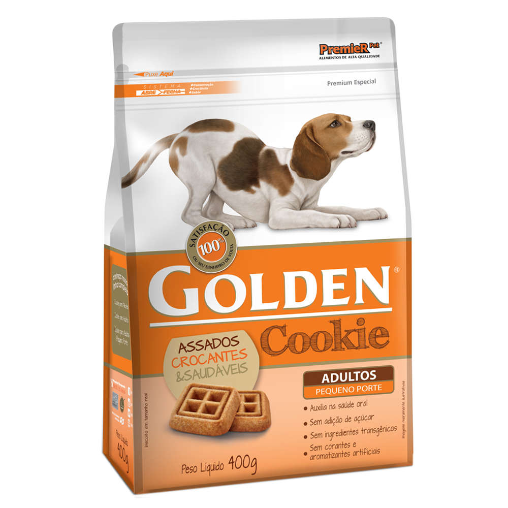 Golden Cookie Adulto Pequeno Porte - 400g