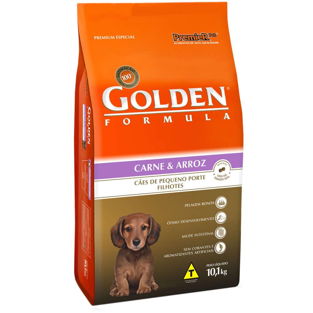 Golden Fórmula Pequeno Porte Filhote Carne e Arroz