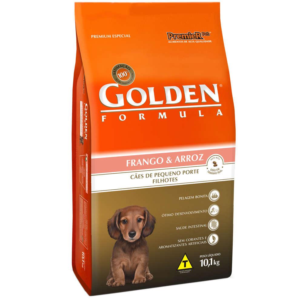 Golden Formula Pequeno Porte Filhotes Frango e Arroz