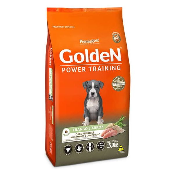Golden Power Training Filhote Frango e Arroz