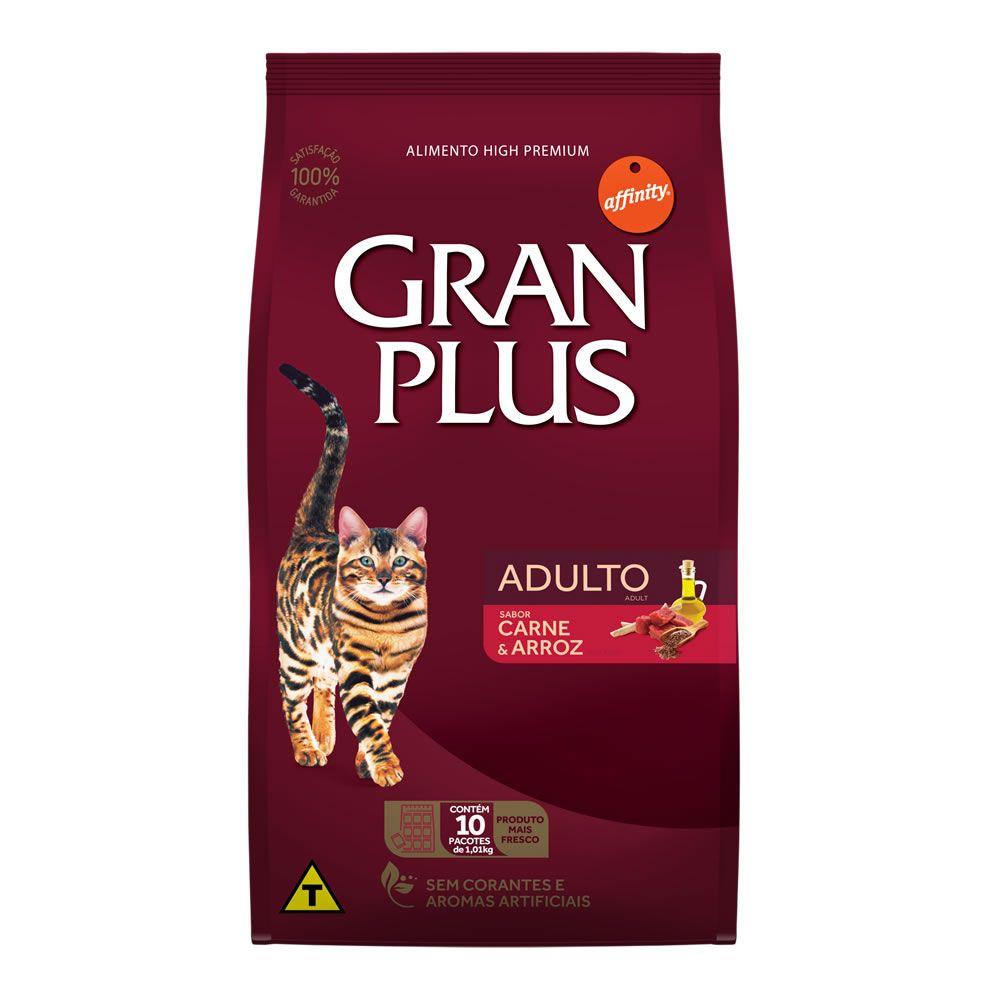 Gran Plus Gatos Adultos Carne e Arroz