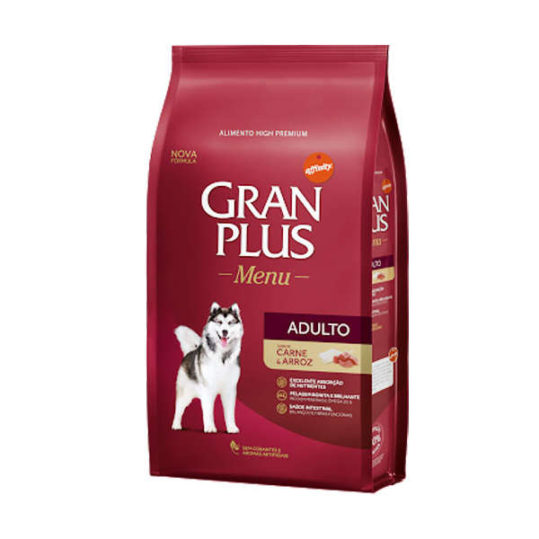 Gran Plus Menu Adultos Carne e Arroz