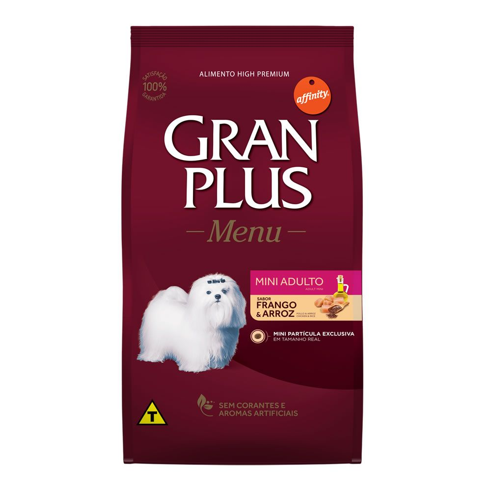 Gran Plus Menu Mini Adultos Frango e Arroz