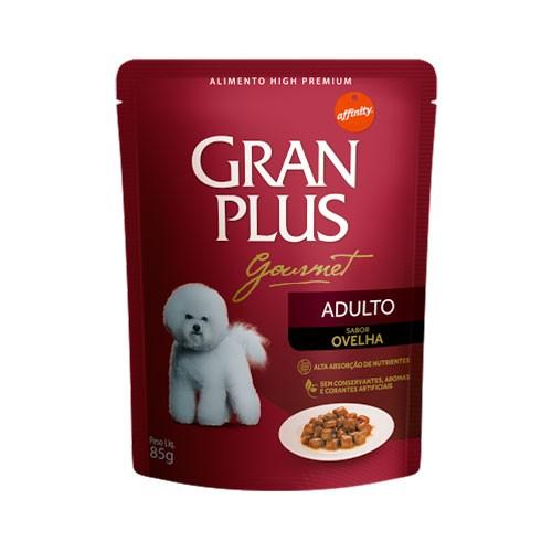 Gran Plus Sachê Gourmet Adulto Ovelha 85g