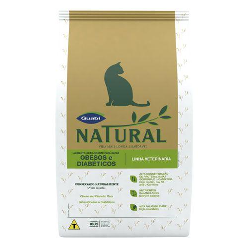 Guabi Natural Feline Obesos e Diabéticos