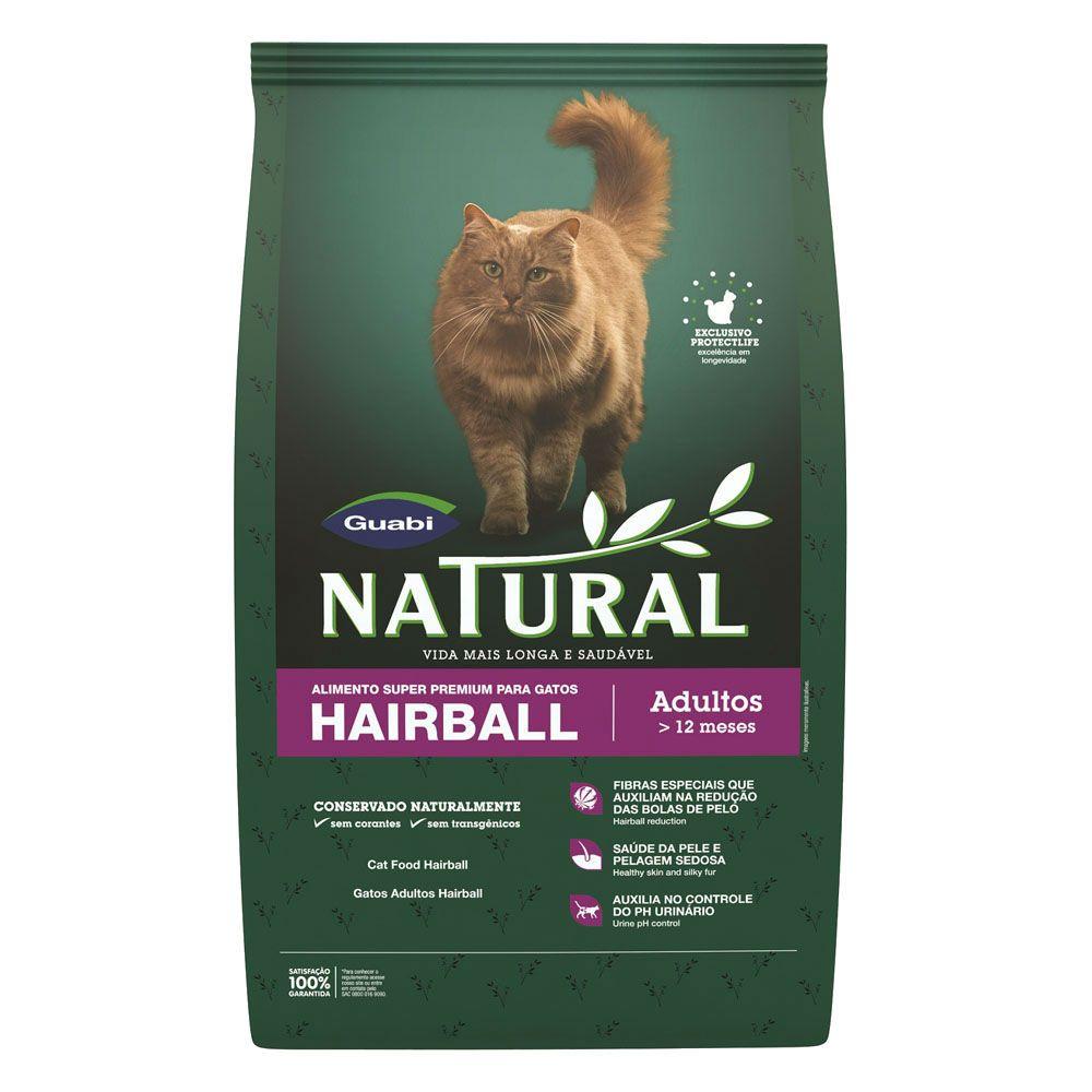 Guabi Natural Gatos Hairball Adultos
