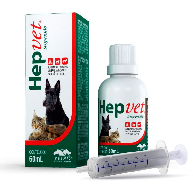 Hepvet Suspenção 60ml