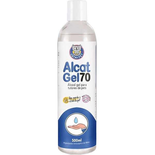 Higienizador Antisséptico CatMyPet Alcat Gel 70