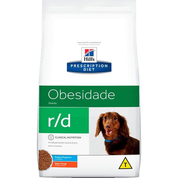 Hills Prescription Diet Canine R/D Redução de Peso Raças Pequenas