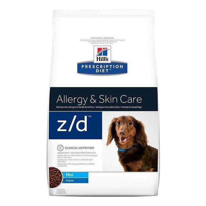 Hills Prescription Diet Canine Z/D Alergias Alimentares e de Pele Raças Pequenas
