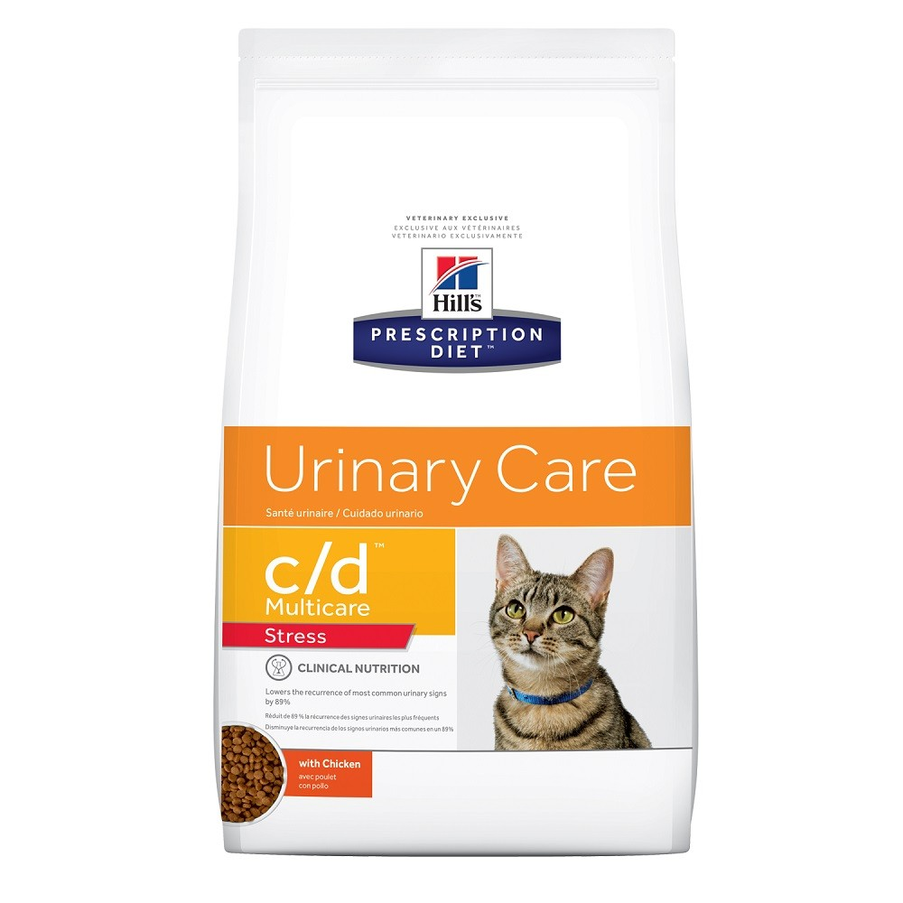Hills Prescription Diet Feline C/D Multicare Stress Cuidado Urinário