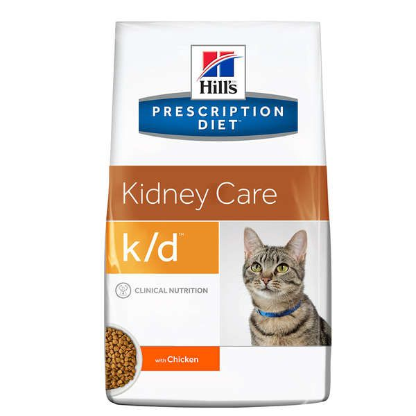 Hills Prescription Diet Feline K/D Kidney Care Cuidado Renal