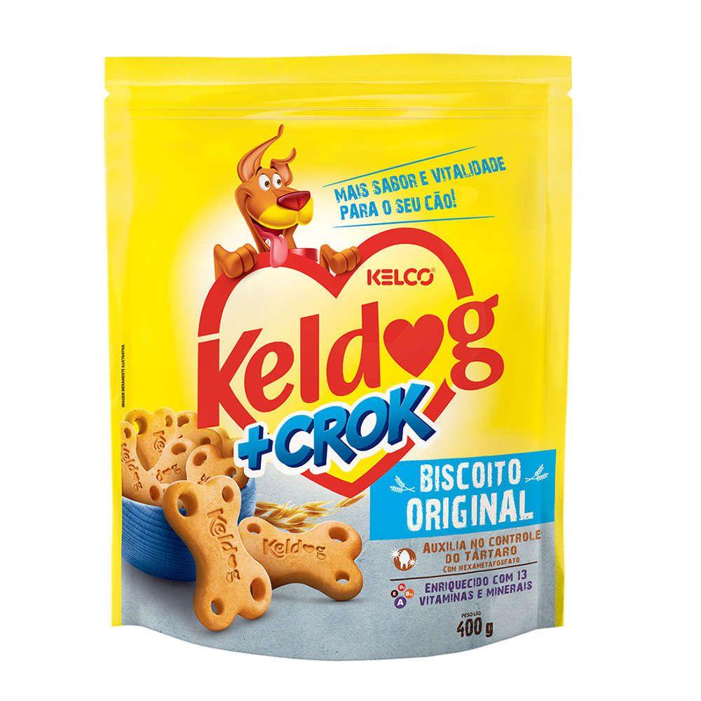 Keldog Biscoito +Crok Original