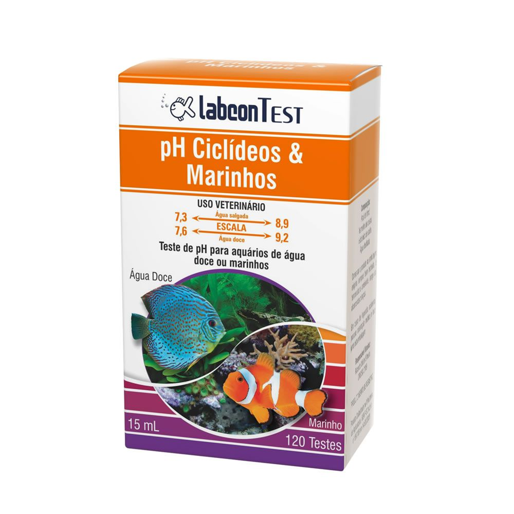 Labcon Test pH Ciclídeos & Marinhos