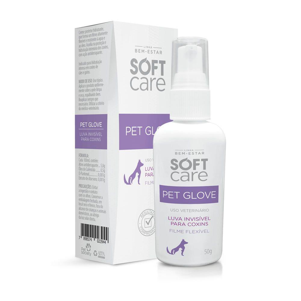 Pet Glove Loção Soft Care Para Cães e Gatos