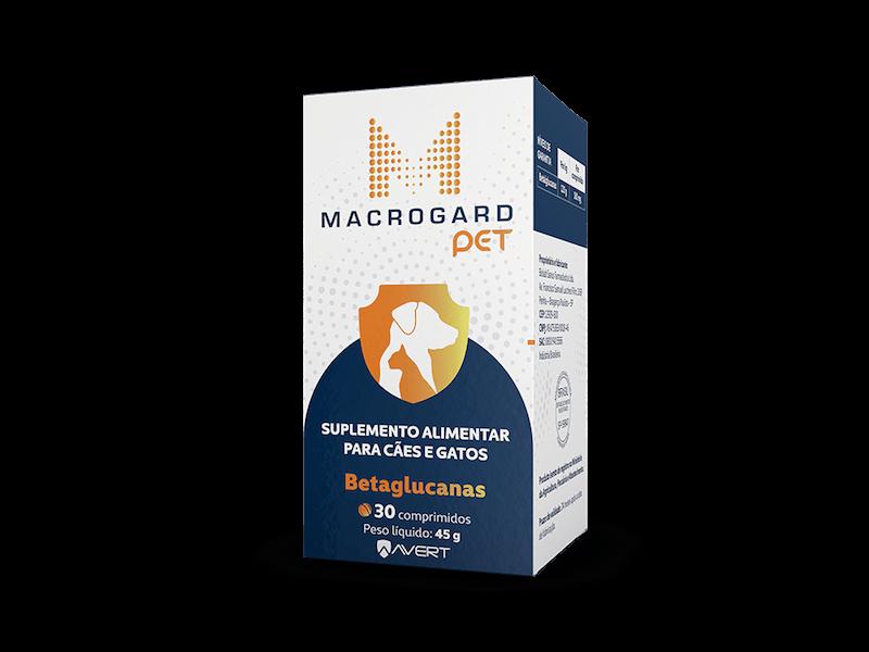 Macrogard Pet Betaglucanas Suplemento Vitamínico para Cães e Gatos - Avert