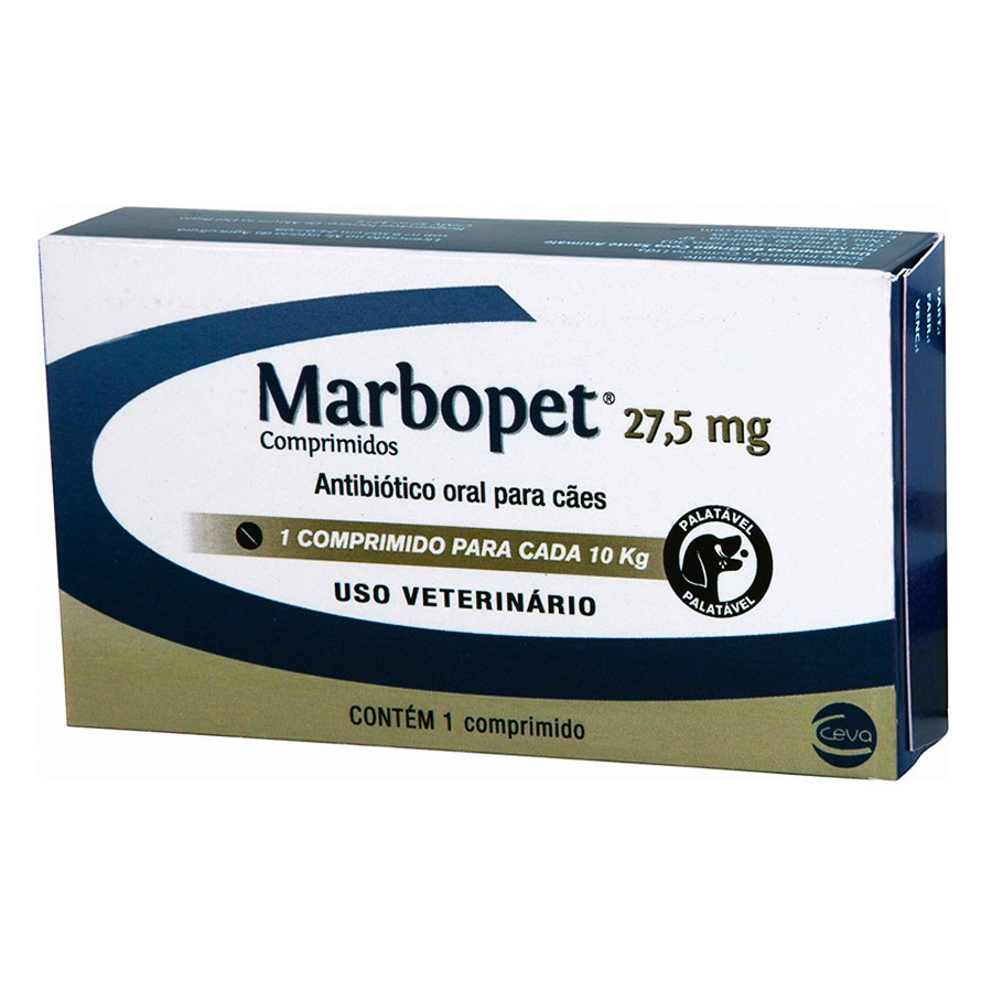 Marbopet 27,5mg (1 comprimido)