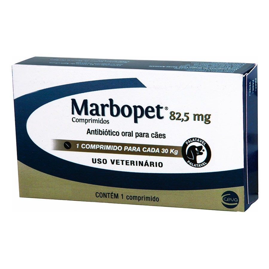 Marbopet 82,5mg (1 comprimido)