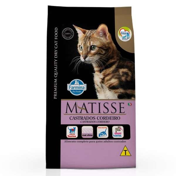 Matisse Gato Castrados Adulto Cordeiro