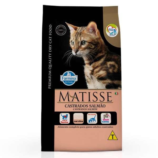 Matisse Gato Castrados Adulto Salmão