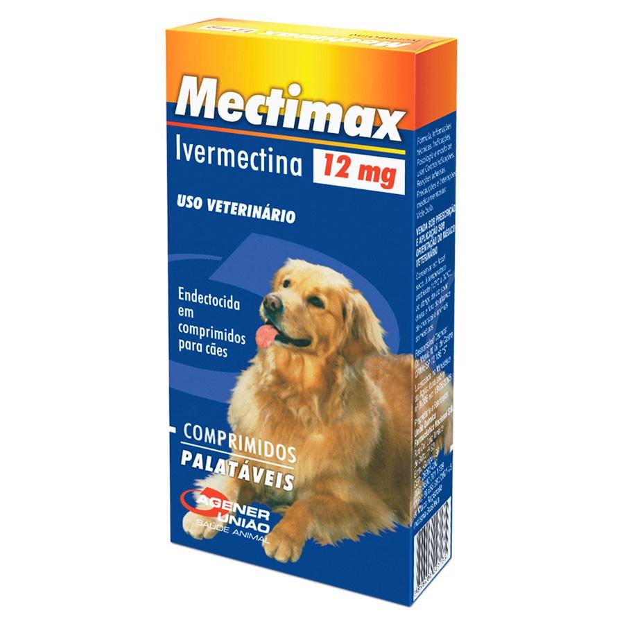 Mectimax 12mg (4 comprimidos)
